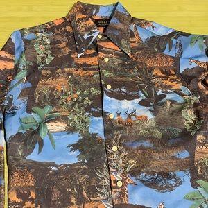 Vintage Versace-esque Print Shirt